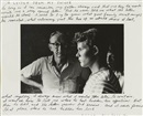Duane Michals, A letter from my father
