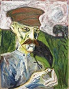 Billy Childish, Self-portrait