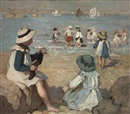 Garnet Ruskin Wolseley, On the beach