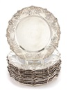 J.E. Caldwell and Co., Place plates (set of 12)