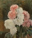Jules Léon Flandrin, Still life in pink and white