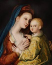 Style Of Barthel Beham, Madonna and Child