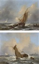 Govert van Emmerik, Sailing of the Dutch coast