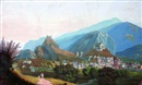 Attributed To Johann Ludwig (Louis) Bleuler, Vue de Sion en Valais