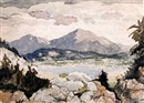 Adolphe Valette, Lake District (Derwentwater?)