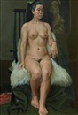 Park Deuksoon, A nude woman