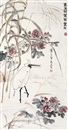 Ling Wenyuan, Bird and flowers