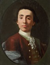Attributed To Gaspare Traversi, Portrait d'homme en habit rouge