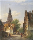 Cornelis Christiaan Dommelshuizen, The new church by the wood, Haarlem