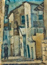 Arieh Allweil, Street in Safed