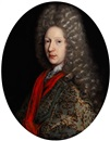 Attributed To Pierre Gobert, Portrait eines Adeligen Herren
