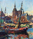 Waldemar Sewohl, Port of Stralsund