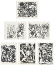Jackson Pollock, Untitled portfolio (set of 6)