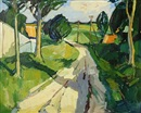 Bírge Ibsen, Road through a summer landscape