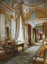 Alexandre Orlov, Private apartments of the czars in Moscow's Great Kremlin Palace (pair)