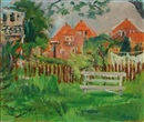 Knud Agger, Landscape with houses