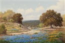 Palmer Chrisman, Bluebonnets in spring