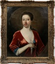 Anonymous-British, Portrait of a lady