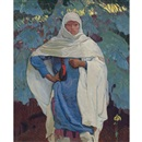 Ernest Leonard Blumenschein, White blanket and blue spruce