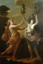 Anonymous-European (18), Apollo und Daphne