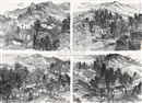 Wang Yongliang, Landscape (4 works)
