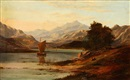Charles Leslie, Landscape from the Scottish highlands