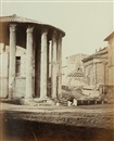 James Anderson, Temple of Vesta, Piazza della Verita, Rome