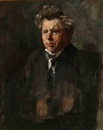 Herman Albert Gude Vedel, Portrait of the Danish poet Jeppe Aakjær