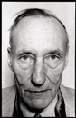 Marcia Resnick, Portrait of William S. Burroughs, New York