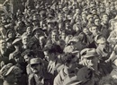 Walter Zadek, Holocaust survivors and war refugees being welcomed by crowd in Haifa (2 works)