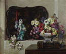 Herbert Davis Richter, Still life with tray