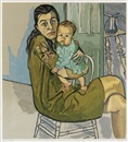 Alice Neel, Nancy and Olivia (Mother and child)