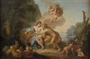 Attributed To Jacques Dumont, Venus et Adonis
