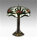 Riviere, Table lamp in Lotus pattern
