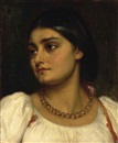 Lord Frederick Leighton, Head of a Roman model