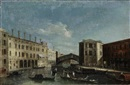 Master of the Langmatt Foundation Views, Rialtobrücke in Venedig