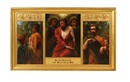 W. Savage Cooper, He was despised and rejected of men (triptych)