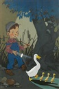 Vernon Grant, Boy with duck and ducklings