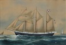 Reuben Chappell, The Danish schooner Vigilant of Marstal