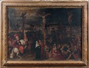 Workshop Of Louis de Caullery, La Crucifixion (in 3 parts)