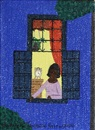 Rodolpho Tamanini Netto, Untitled 4 (Woman at window at night)