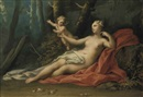 Jacopo Amigoni, Venus and Cupid in a wooded landscape
