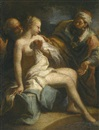 Circle Of Jacopo Amigoni, Susannah and the elders