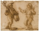 Andries Dirsksz Both, Two peasant characters from popular theatre