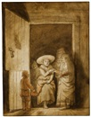 Samuel van Hoogstraten, The visitation