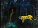Doris Clare Zinkeisen, Tiger tiger burning bright, in the forest of the night
