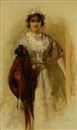 George Elgar Hicks, A pair of pheasants