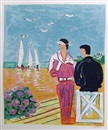 Jean Claude Picot, Couple at Deauville