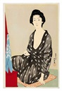 Goyo Hashiguchi, Natsugoromo no onna (Woman in summer clothing)