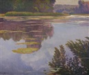 Laurent Auberge de Garcias, Pond with Waterlilies